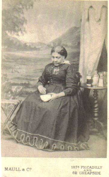 But There Was No Comparison Between That Photograph And This New Iconic Authoritative Portrait Of Seacole At The Height Her Fame By Some Miracle